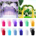 "6""x100Yds Tulle Roll Spool Wedding Chair Bow Tutu Skirt DIY Craft Party Supplies"