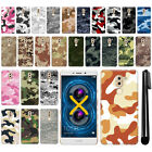 "For Huawei Honor 6X/ Mate 9 Lite 5.5"" Camo Design HARD Back Case Cover + Pen"