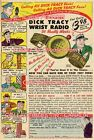 "DICK TRACY 1947 = Wrist Radio JAMES BOND -ISH = POSTER Not Comic 7 SIZES 19""-36"" $62.88 CAD"
