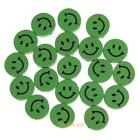 20/25pcs Wooden Buttons for DIY Sewing Scrapbooking Crafts Clothing Accessories