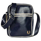 Fred Perry Classic Side Unisex Bags Navy Ecru