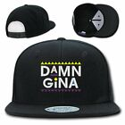 DAMN GINA CAP HAT SNAP BACK MEN EMBROIDERY TRUCKER MARTIN TV FUNNY COMEDY SHOW