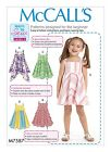 SEWING PATTERN! MAKES GIRL SUMMER PULLOVER DRESS~SUNDRESS! EASY 2 DO~LEARN 2 SEW