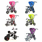 FoxHunter 4 in 1 Kids Tricycle 3 Wheels Children Ride On Trike Bike Stroller T02