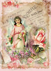 Whimsy Dust Victorian Angel Roses Quilt Block Multi Szs FrEE ShiP WoRld Wide (W9