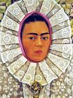 Frida Kahlo Lace Reproduction Fabric Quilt Block Free Shipping World Wide