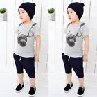 Toddler Infant Newborn Kids Baby Boy Summer Clothes Camera T-shirt Tops Outfits