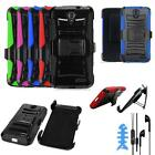 Phone Case For ZTE Zmax Grand / Zmax Champ Holster Cover Headset Earbuds W/Mic