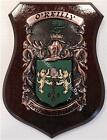 Blackwell to Bonnar Family Handpainted Coat of Arms Crest PLAQUE Shield