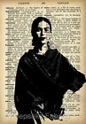 Frida Kahlo Collage Art Fabric Crazy Quilt Block FrEE ShiPpinG WoRld WiDE (FP8