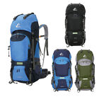 60L Large Waterproof Backpack Internal Frame Packs Hiking Climbing Rucksacks New