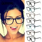 Fashion Retro Vintage Nerd Glasses Clear Lens Frame Geek Fancy Eyewear HO