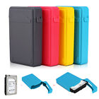 Non-slip 3.5'' Hard Drive Disk HDD SSD External Enclosure Case Cover Storage Box