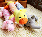 Hot CHEAP Pet Puppy Dog Toys Chew Squeaker Squeaky Plush Sound Pig Elephant Duck