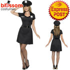 CA292 Special Constable Police Woman Costume Cops & Robbers Fancy Dress Up & Hat