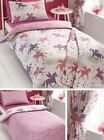 Catherine Lansfield Girls Unicorns Duvet Cover & Pillowcase Or Curtains Or Throw