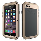 Extreme Aluminum Metal Gorilla Tempered Glass Shockproof Case For iPhone Series