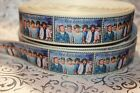 7/8* ONE DIRECTION MUSIC GROUP GROSGRAIN HAIR BOWS RIBBON BY YARD USA SELLER