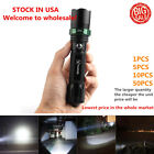 2000Lumen XML-T6Vander Flashlight  Zoomable Focus LED Torch Light with hammer^ ;