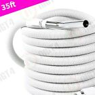 Central Vacuum Crush-Proof Electric 35' foot Direct Connect Hose - NEW