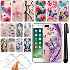 "For Apple iPhone 7 Plus 5.5"" Ultra Thin Clear Soft Gel TPU Case Cover + Pen"