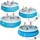 Bestway Fast Set Swimming Pool with or without pump 8ft and 10ft