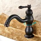 Bathroom/Kitchen Sink Vessel Faucet Oil Rubbed Bronze Waterfall Basin Mixer Tap