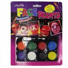 Halloween Party Props Tribal Totem Tattoo Floral Face 8 Colors Face Paint
