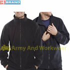 Click Mens Full Zip Fleece Jacket Workwear Uniform Outdoors Hiking Warm Coat