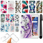 "For LG Tribute HD LS676 X Style 5"" X Skin Ultra Thin Clear TPU Case Cover + Pen"