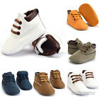 Newborn Baby Boy Girl Soft Sole Crib Shoes Warm Boots Anti-slip Sneakers 0-18M Y