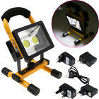 30W LED Rechargeable Flood Light IP65 Waterproof Portable Work Camping Fishing