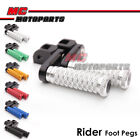 MC POLE 40mm CNC Adjustable Foot Pegs For Ducati Monster S4RS 2006-2008 06 07 08