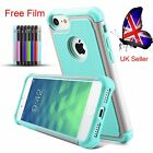 Luxury Armour ShockProof Back Case Cover For Apple iPhone 7 Plus 6 6S+Clear Film