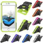 """For iPhone 7 Plus 5.5"""" Rubber Kickstand Tough Armor Hybrid Cover Case Rugged"""
