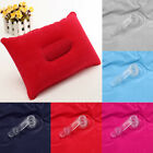 Camping Pillow Inflatable Fabric Feel Head Cushion Travel Hiking Neck Protect
