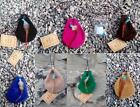 Indian medicine pouch shamanic shamen necklace suede purse with charms FairTrade