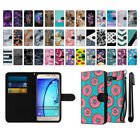For Samsung Galaxy On5 G550 G500 Ultra Slim Canvas Wallet Pouch Case Cover + Pen