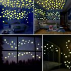 80/100pcs Star Glow In The Dark Luminous Ceiling Wall Stickers Kids Baby Bedroom