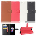 For OnePlus 5 Five Stand Wallet TPU Leather Flip Card Slots Slim Thin Case Cover