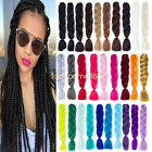 "FASHION 24"" SYNTHETIC Kanekalon JUMBO BRAIDING HAIR Twist Braids Hair Extensions"