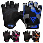 RDX Weight Lifting Gloves Training Gym BodyBuilding Fitness Workout Cycling F6