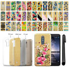 For ZTE Zmax Pro Carry Z981 Slim Sparkling Gold TPU Silicone Case Cover + Pen