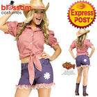 CA328 Dukes of Hazzard Daisy Duke Cowgirl Country Western Wild West Costume Hat