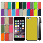 "For Apple iPhone 6 Plus/ 6s Plus 5.5"" Color Slim Fit Hard Back Cover Case + Pen"
