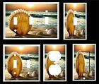 SEA SHELL SUNSET OCEAN TROPICAL SANDY BEACH LIGHT SWITCH COVER PLATE