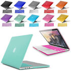 Rubberized Hard Cover Shell Case for Macbook Air Pro 13 15 + Keyboard Skin Cover $11.49 USD