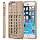 For iPhone 6 6s 4.7 Square Patterned Flexible Soft TPU Gel Slim-Fit Case Cover