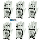 BEST PRICE BEST SELLING GLOVE 6 PACK MEN'S LH TALON CABRETTA LEATHER GOLF GLOVES