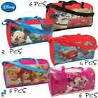 Disney Sporttasche Tasche Bag 40x20x23 Princess Mickey Minnie Maus Cars Planes